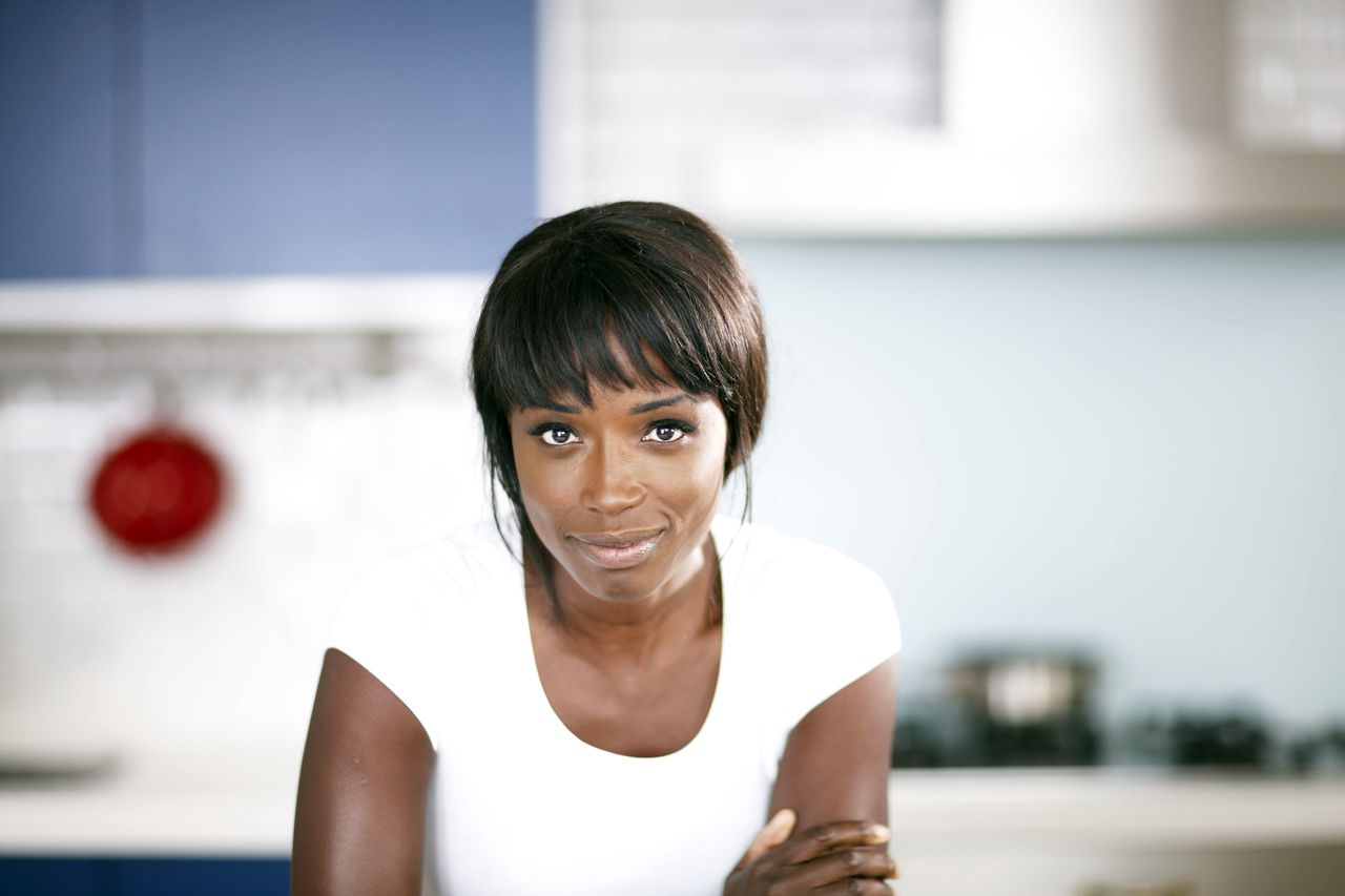 Programme Name: Lorraine's Fast Fresh and Easy Food - TX: 13/08/2012 - Episode: n/a (No. n/a) - Embargoed for publication until: n/a - Picture Shows: Lorraine Pascale - (C) BBC - Photographer: Myles New