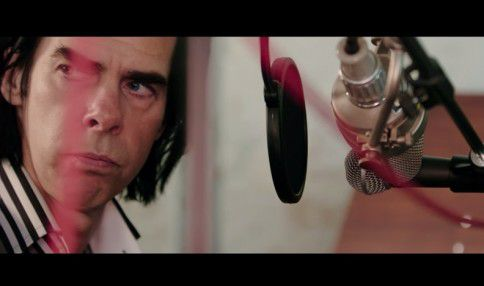 Still uit de film '20,000 Days On Earth' met muzikant Nick Cave, die deze Lowlandseditie in een speciale voorpremière te zien is.