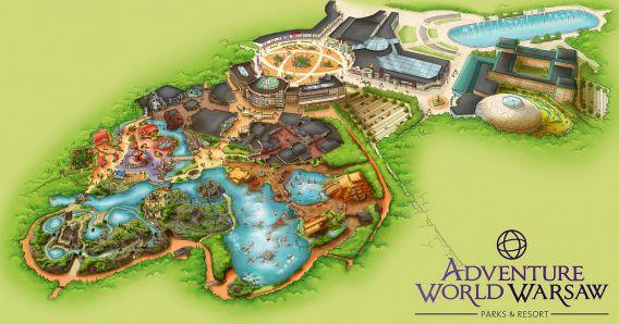 Adventure World Warsaw, een groot project van Imtech in Polen.