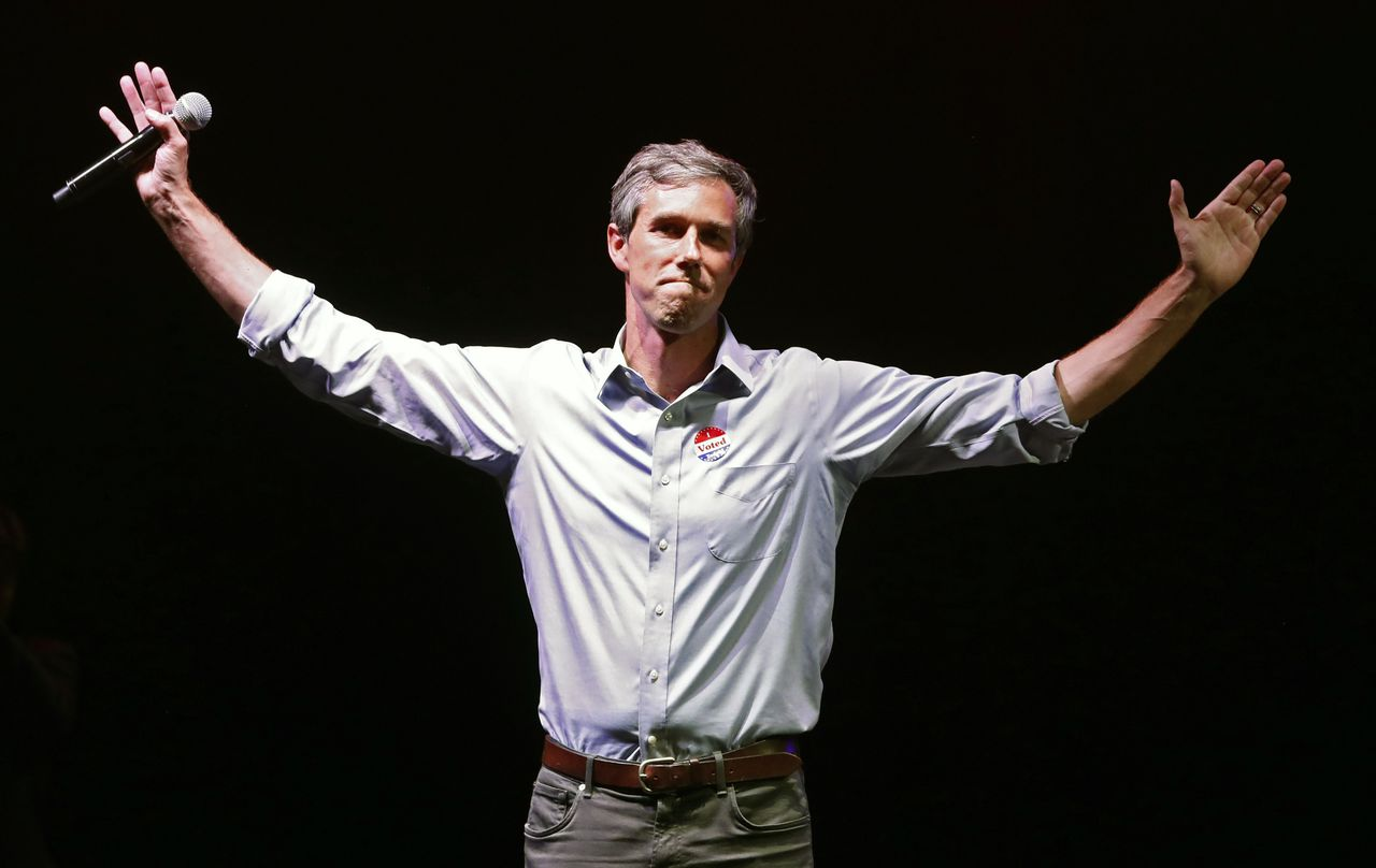 Beto O'Rourke in 2018.
