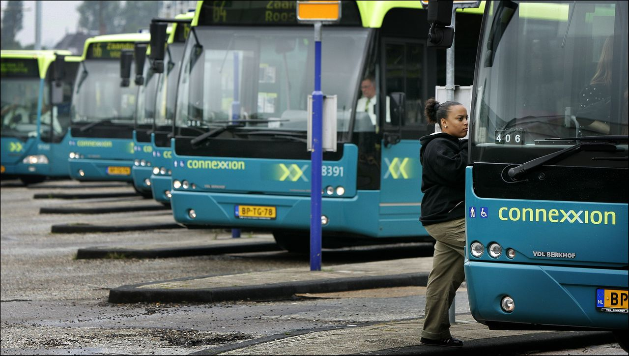 Bussen van Connexxion.