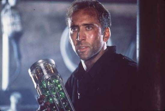 Nicolas weet alles van biowapens Scene uit de film The Rock (1996)