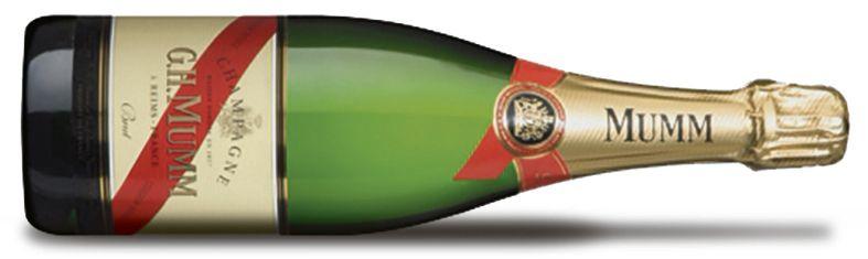 Mumm Cordon Rouge Brut, 39,99 euro, Gall & Gall. gall.nl