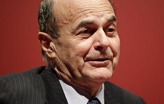 Leider van de Democratische Partij Pier Luigi Bersani.