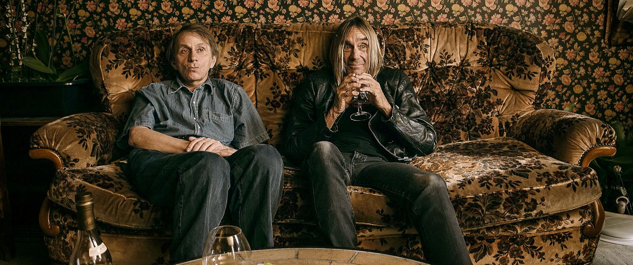 Michel Houellebecq (links) en Iggy Pop in To Stay Alive