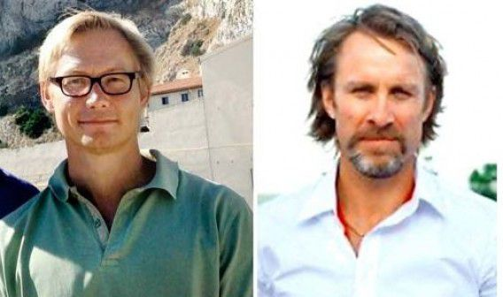 Dit zouden de twee ontvoerde Zweedse journalisten zijn: Magnus Falkehed en Niclas Hammarström.