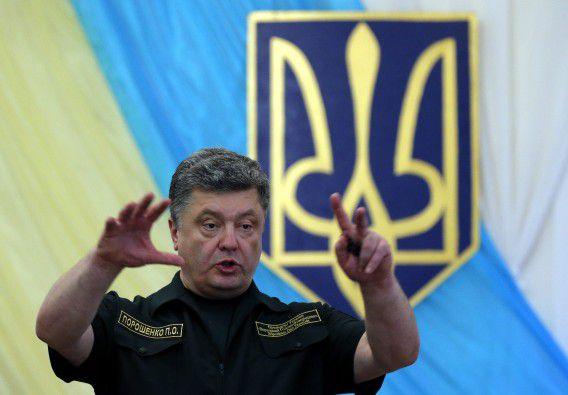 Het voorstel van president Porosjenko voor meer autonomie in het oosten is vandaag aangenomen door het parlement.