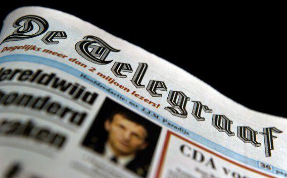 Landelijke kranten De Telegraaf. ANP KOEN VAN WEEL