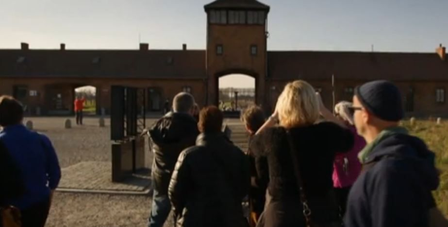 Concentratiekamp Auschwitz.