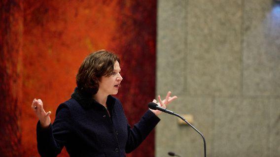 Minister Edith Schippers van Volksgezondheid, Welzijn en Sport weet het ook even niet meer.