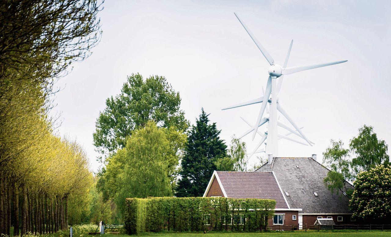 MEDEMBLIK - Windmolens in het Nederlandse landschap.ANP LEX VAN LIESHOUT