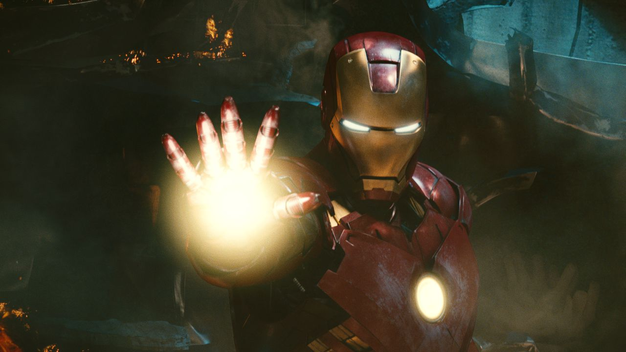 """In this film publicity image released by Marvel Entertainment, the character Iron Man is shown in a scene from """"Iron Man 2."""" (AP Photo/Marvel Entertainment/Paramount Pictures, Industrial Light and Magic)"""