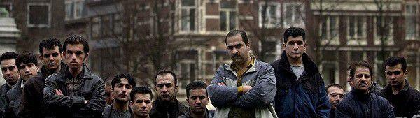 Demonstratie van Iraakse Koerden tegen het asielbeleid van de Nederlandse overheid. De 500 vluchtelingen die met uitzetting worden bedreigd menen dat Iraaks Koerdistan te onveilig is om naar terug te gaan. FOTO ROEL ROZENBURG