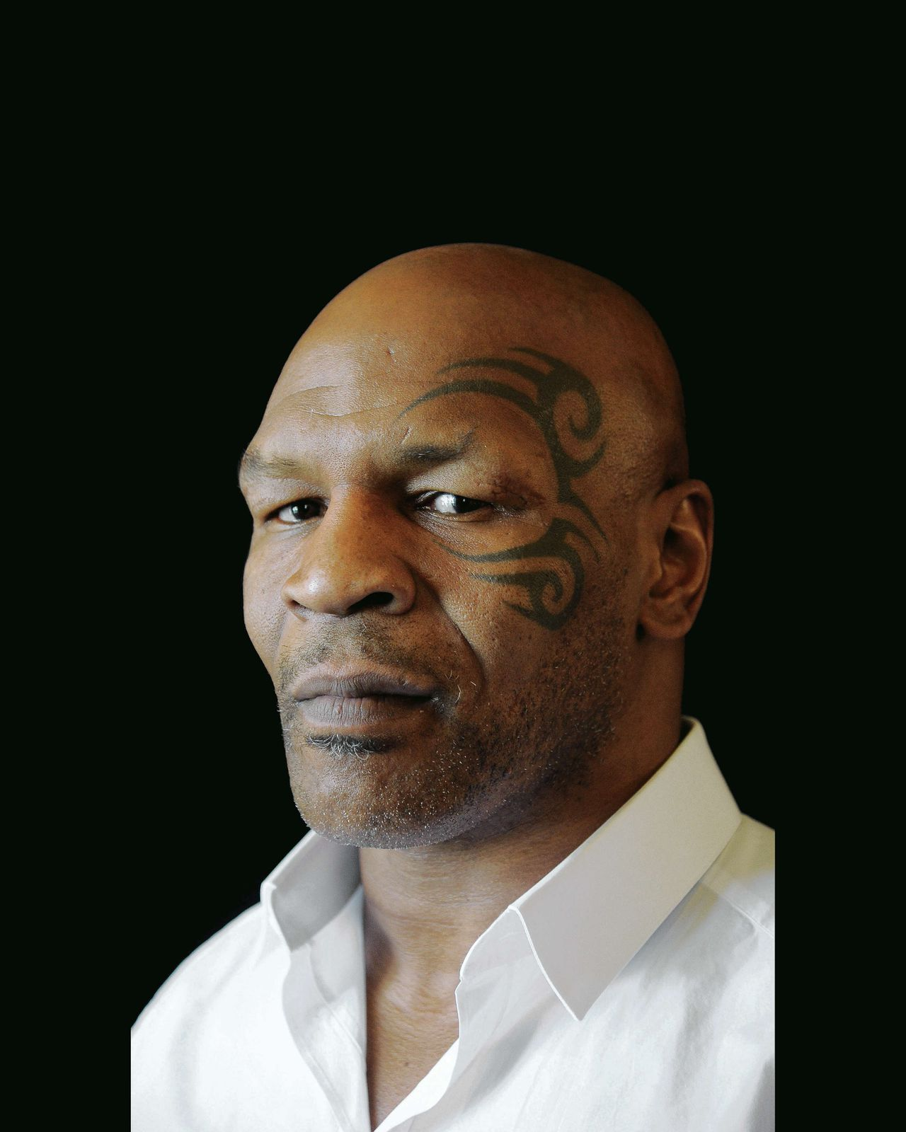 Mike Tyson afgelopen zomer in Beverly Hills.
