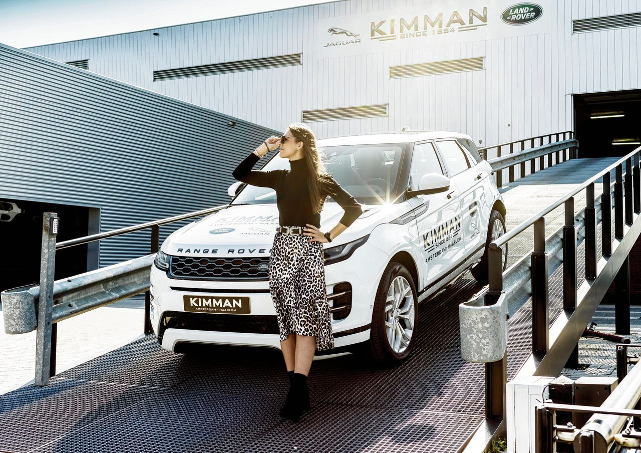 Range Rover Evoque bij Kimman Amsterdam