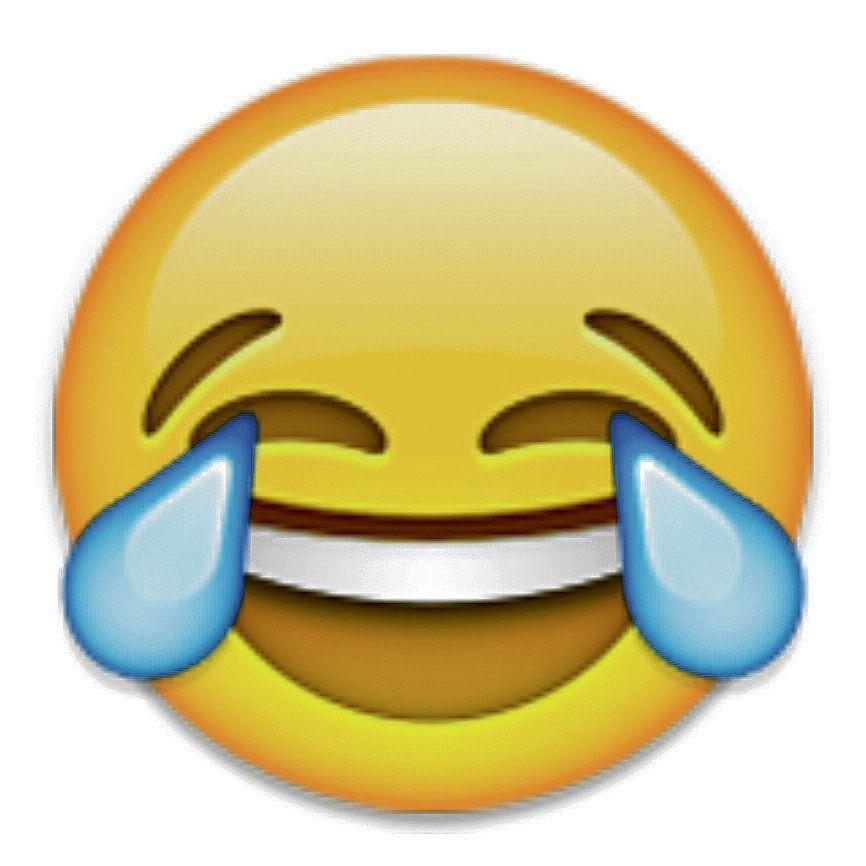 Afbeeldingsresultaat voor lachend emoji