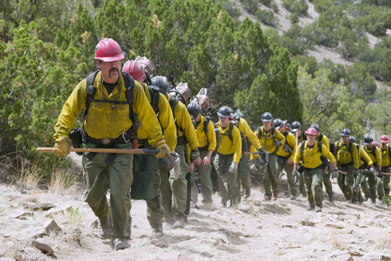 De Granite Mountain Hotshots in Only The Brave.