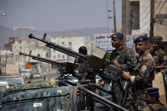 Jemenitische militairen.