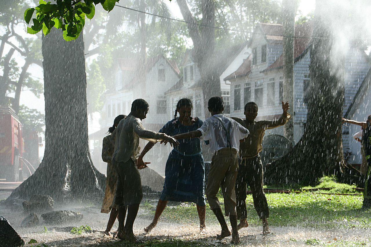 Scène uit Sonny Boy. Met de historische opnames hoopt Suriname als filmland een opkikker te krijgen. Foto Hijn Bijnen
