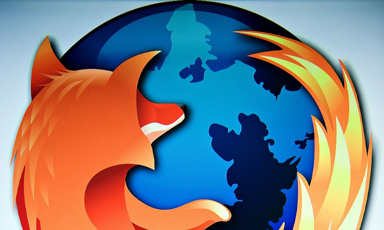 (FILES) Picture taken on July 31, 2009 shows a screen displaying the logo of the open-source web browser Firefox in London, as the software edges towards it's billionth download within the next twenty four hours. The launch of the first version of Firefox on November 9, 2004 unhinged the market power of the Internet Explorer, on November 9, 2014 Firefox turns 10. AFP PHOTO / LEON NEAL