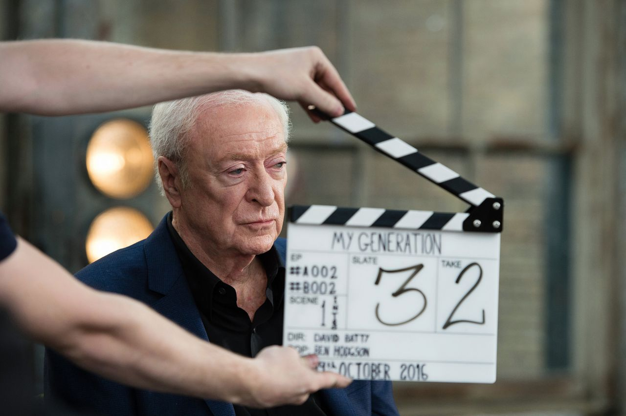 Michael Caine in My Generation.