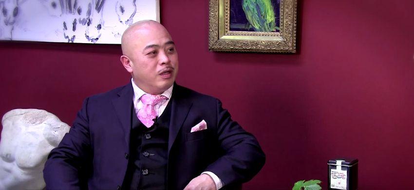 Chow tijdens een interview met MySourceTV, in april vorig jaar.