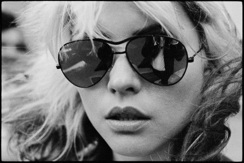 Debbie Harry, zangeres van Blondie.