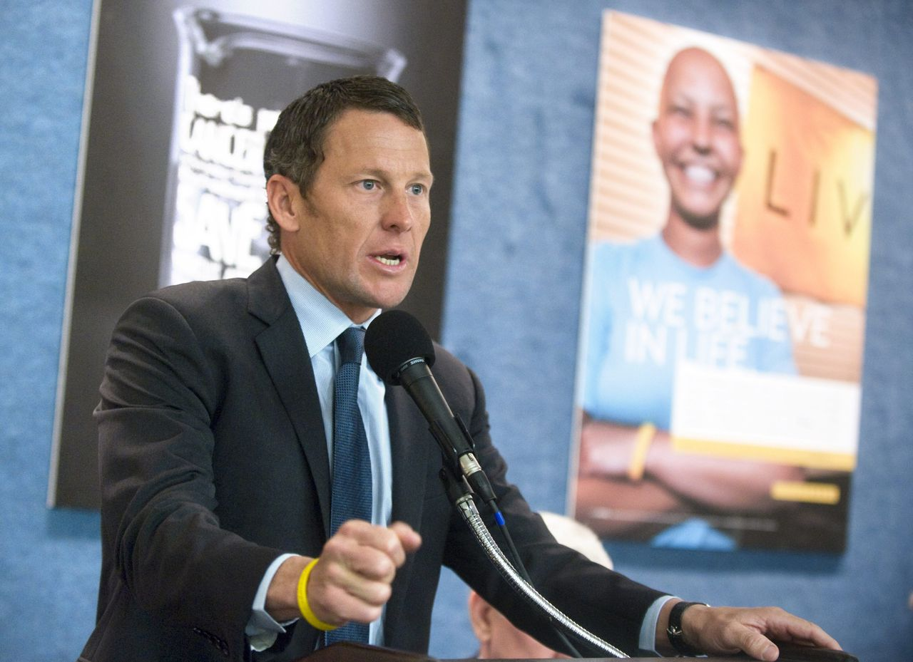Lance Armstrong in 2011.