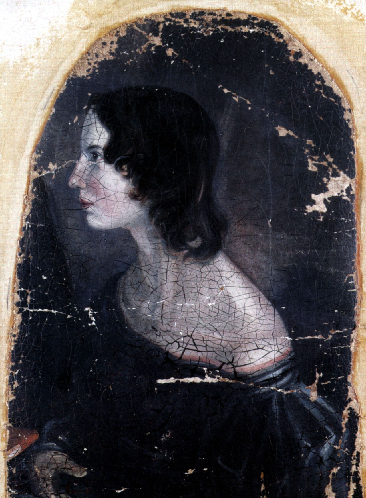 UNSPECIFIED - OCTOBER 20: Emily Bronte (1818-1848) english novelist painting by Patrick Branwell Bronte c. 1833 (Photo by Apic/Getty Images)