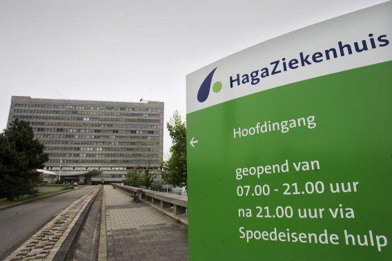 Het Hagaziekenhuis in Den Haag.