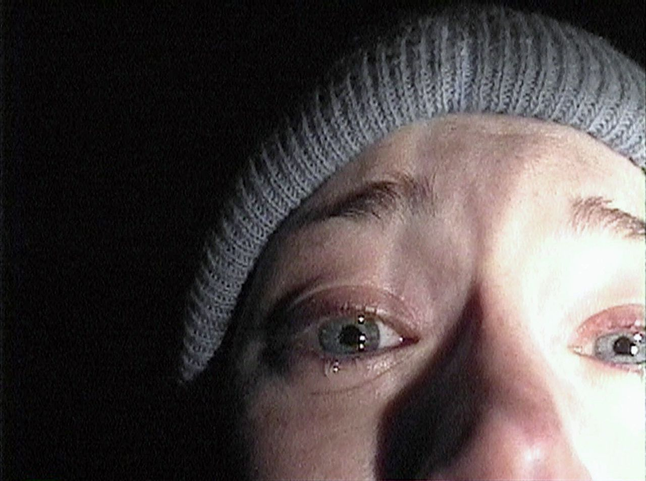 Heather Donahue in 'The Blair Witch Project'.