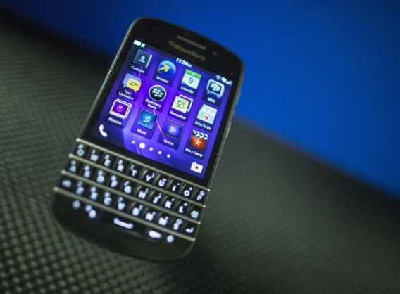 Een Blackberry Q10