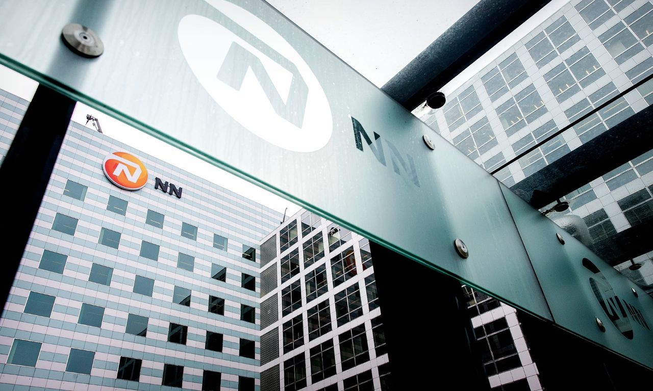 Exterieur van NN Group in Den Haag.