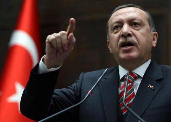De Turkse premier Erdogan heeft de Israëlische luchtaanval op Syrië fel veroordeeld.