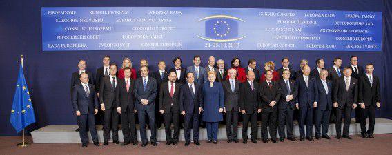 Wie van deze regeringsleiders zou de NSA afgeluisterd hebben? De Eurotop in Brussel wordt overschaduwd door de NSA-affaire. The Guardian onthulde dat de dienst in ieder geval 35 wereldleiders aftapte.