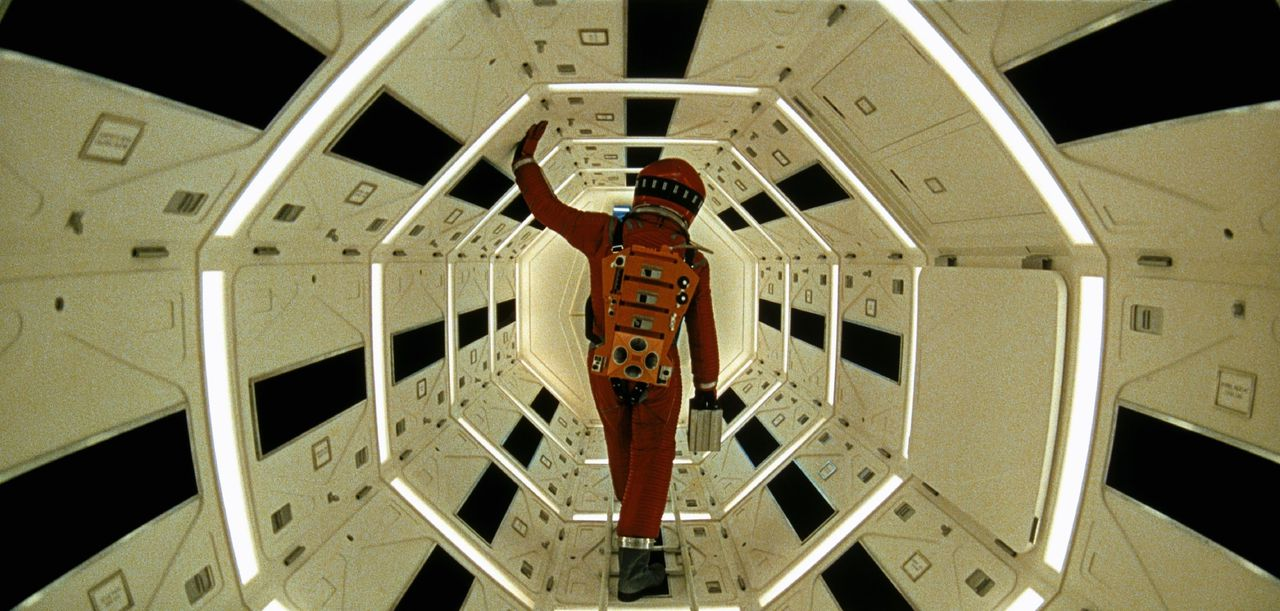 Beeld uit 2001: A Space Odyssey.