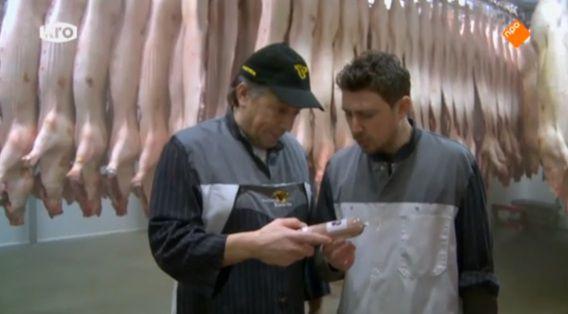 Still uit de aflevering van de Keuringsdienst van Waarde over leverworst.