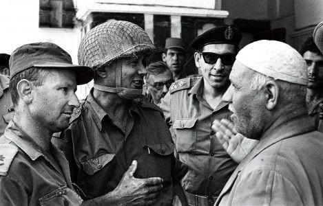Israelische soldaten in Hebron, 8 juni 1967