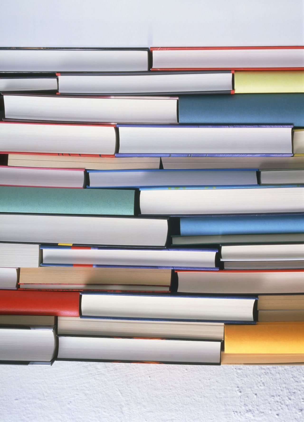Pile of books --- Image by © Ruediger Knobloch/A.B./Corbis