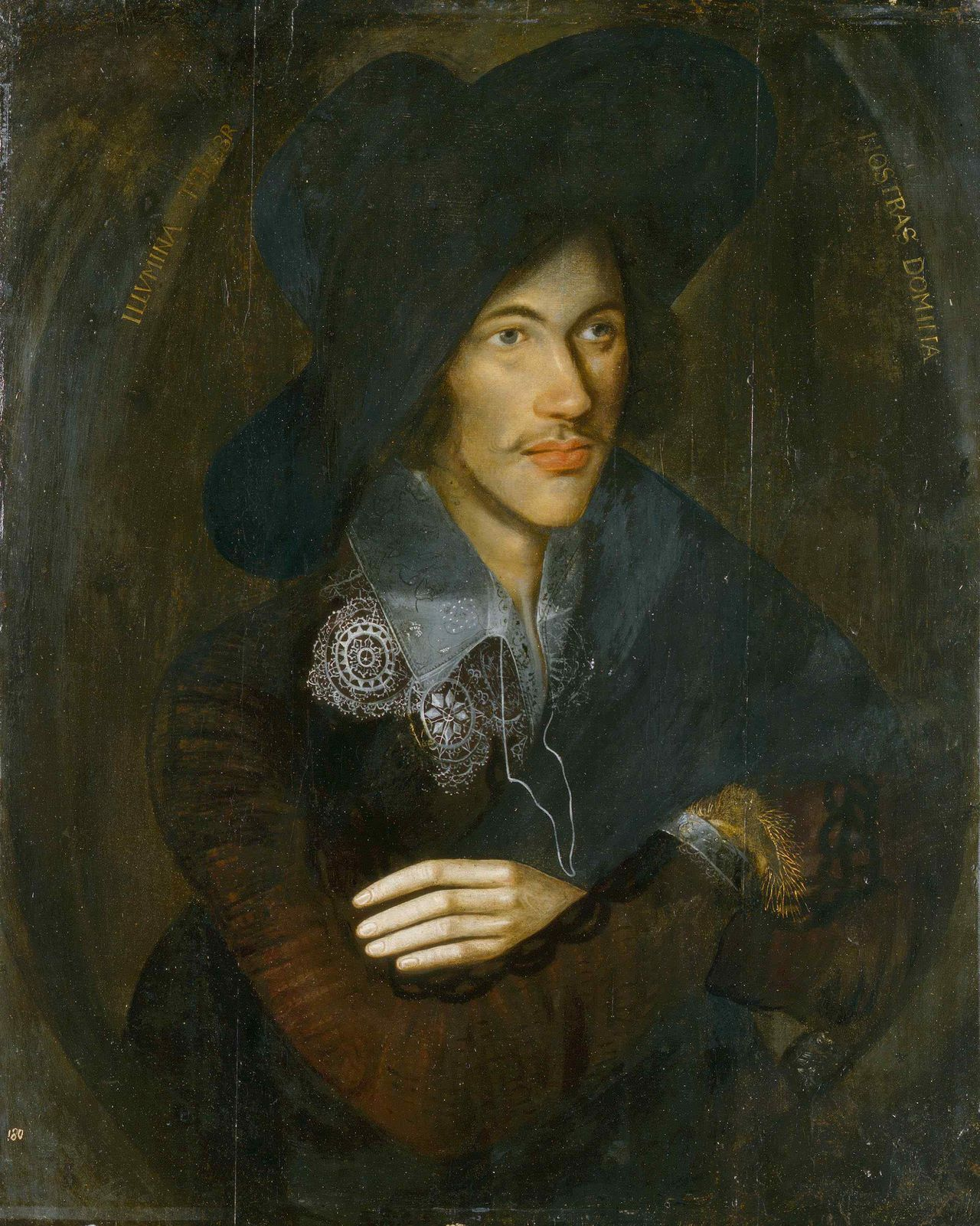 A handout photograph released on January 27, 2006 shows a unique picture by an unknown artist of iconic 16th century English poet John Donne. Britain's National Portrait Gallery launched a public appeal for 1.6 million pounds ($2.85 million) on Friday to buy the oil on panel portrait. REUTERS/National Portrait Galley/Handout