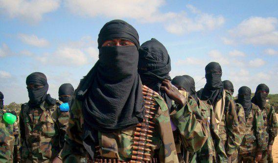 Al-Shabaab strijders in Somalië.