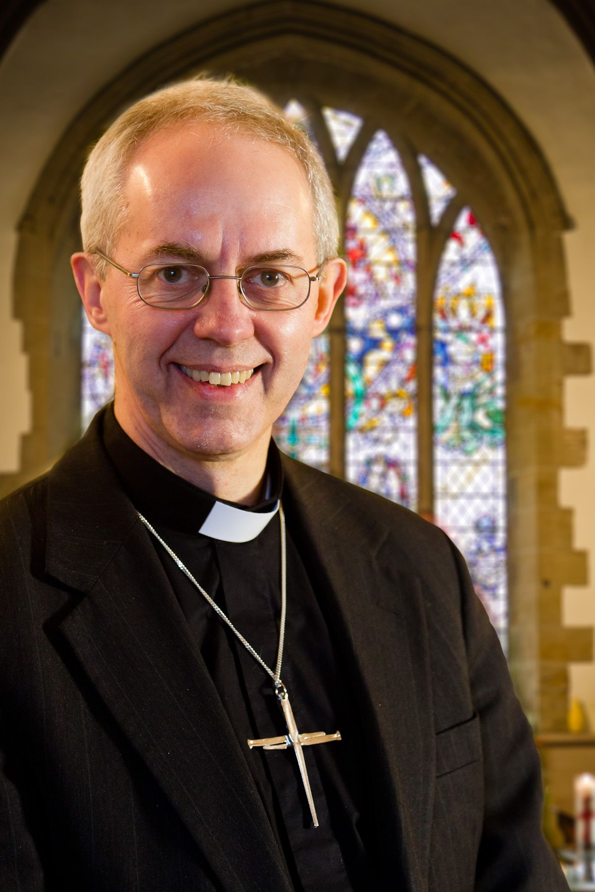 "In this picture taken on December 16, 2012 the Bishop of Durham Justin Welby poses for a photograph in Durham. Former oil company executive Justin Welby has accepted the post of Archbishop of Canterbury, the spiritual leader of the world's tens of millions of Anglicans, reports said on November 8, 2012. Welby, 56, the current Bishop of Durham, will take over from incumbent Rowan Williams when he retires as head of the Church of England next month after a decade in the post, British newspapers and broadcasters reported. "" RESTRICTED TO EDITORIAL USE - MANDATORY CREDIT "" AFP PHOTO / Aegies Associates / Keith Blundy "" - NO MARKETING NO ADVERTISING CAMPAIGNS - DISTRIBUTED AS A SERVICE TO CLIENTS """