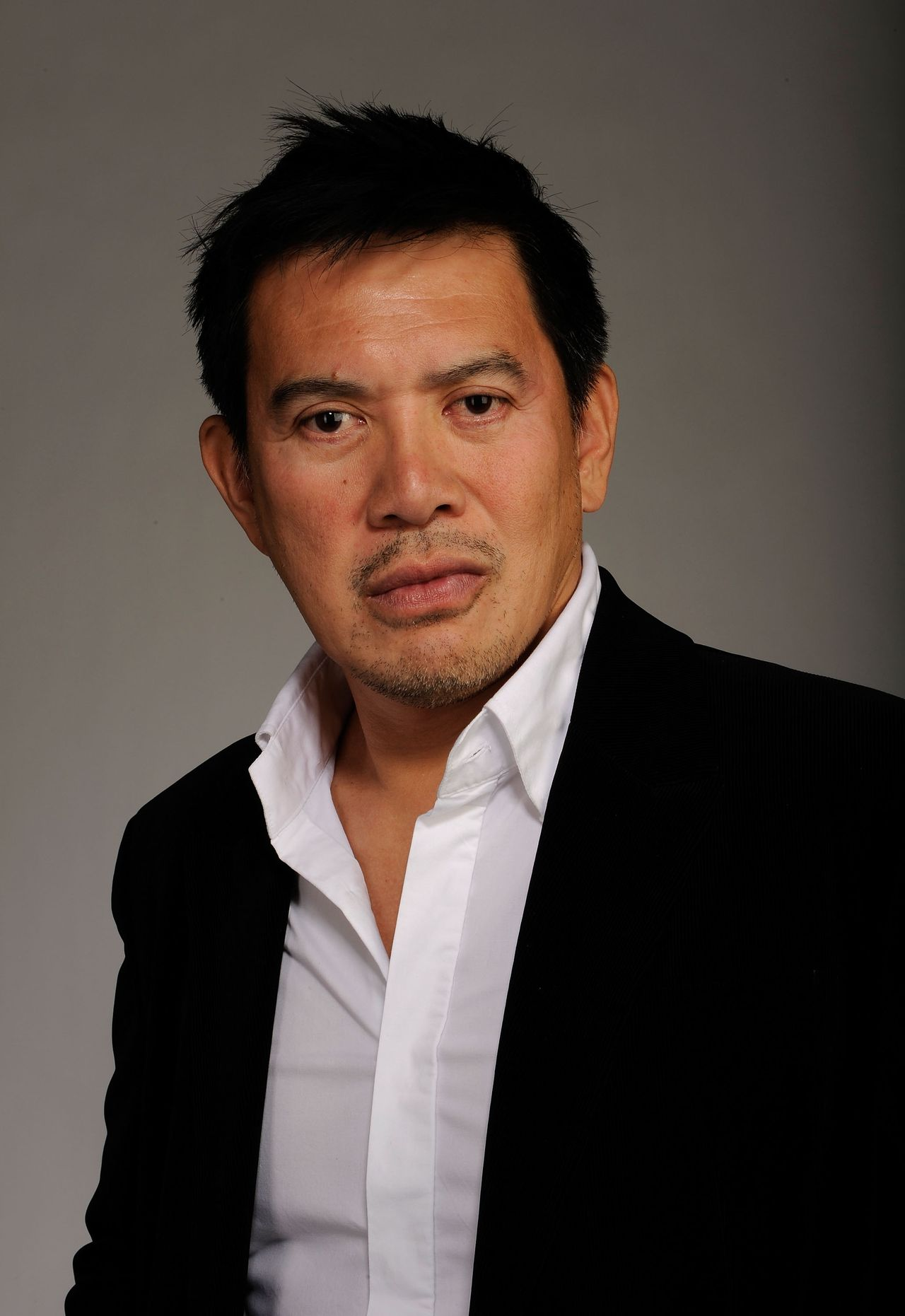 NEW YORK - APRIL 23: Director Brillante Mendoza attends the Tribeca Film Festival 2010 portrait studio at the FilmMaker Industry Press Center on April 23, 2010 in New York, New York. Larry Busacca/Getty Images for Tribeca Film Festival/AFP