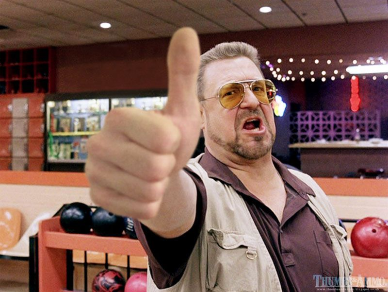 The Big Lebowski op Thumbs and Ammo