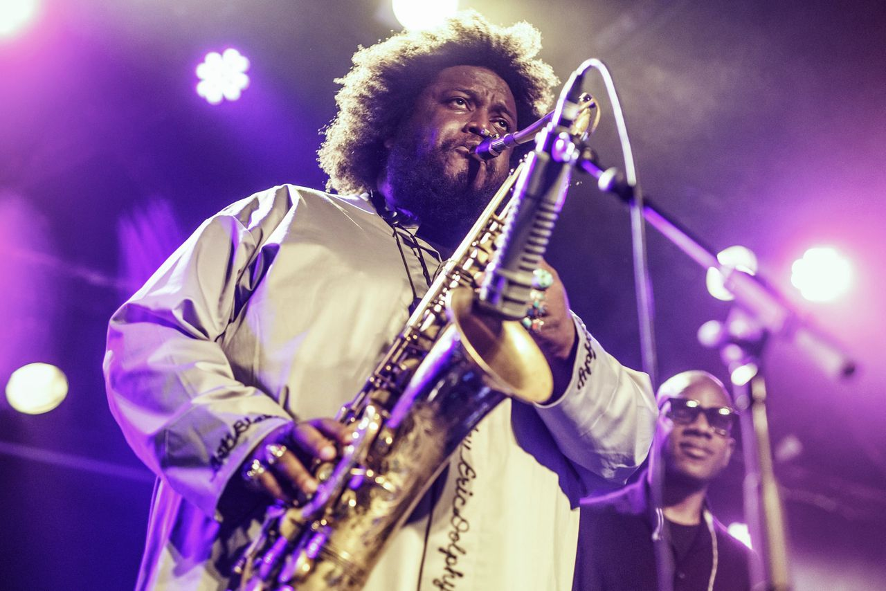 Kamasi Washington in mei tijdens een concert in de Razzmatazz, Barcelona.