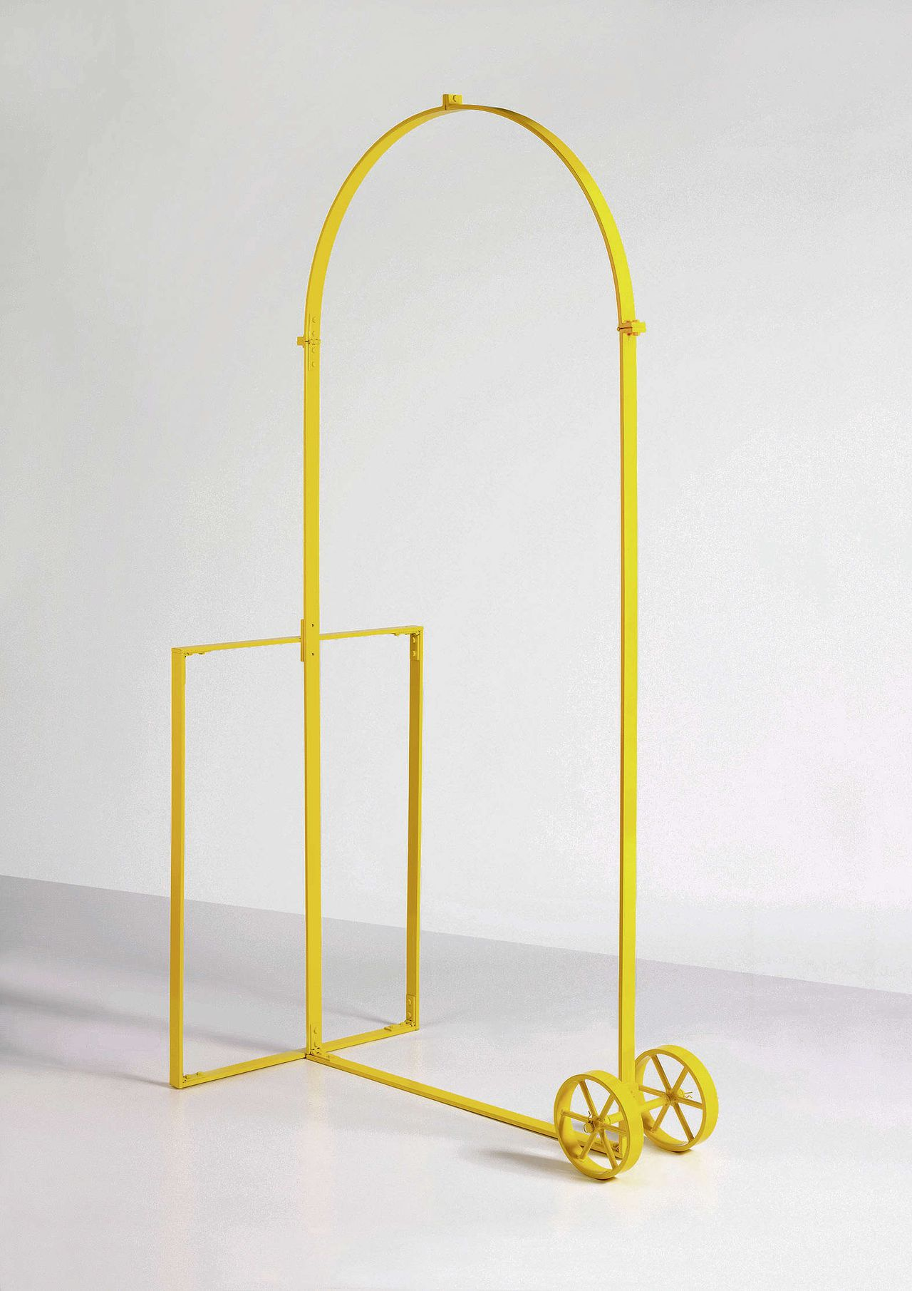 Jimmie Durham: Arc de Triomphe for Personal Use (Yellow), 2007