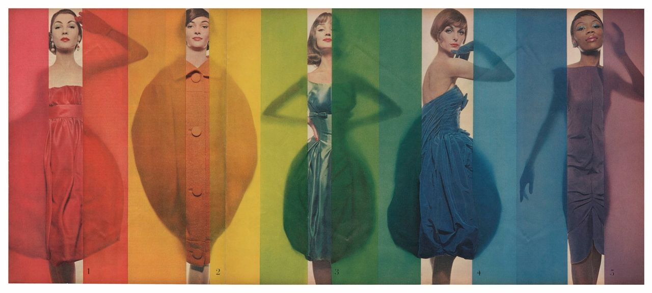 'Rage for Color', Look, 1958.