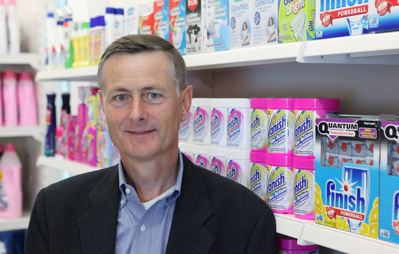 Bart Becht, chief executive officer of Reckitt Benckiser Group Plc, poses for a photograph at the company's headquarters in Slough, U.K., on Wednesday, June 30, 2010. Reckitt Benckiser Group Plc, the world's biggest maker of household cleaners, said Becht had a 90 million-pound ($137 million) gain on share options last year. Photographer: Chris Ratcliffe/Bloomberg *** Local Caption *** Bart Becht