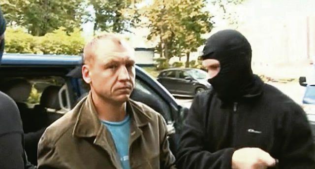 De Estse geheim agent Eston Kohver, opgepakt door Rusland op verdenking van spionage.