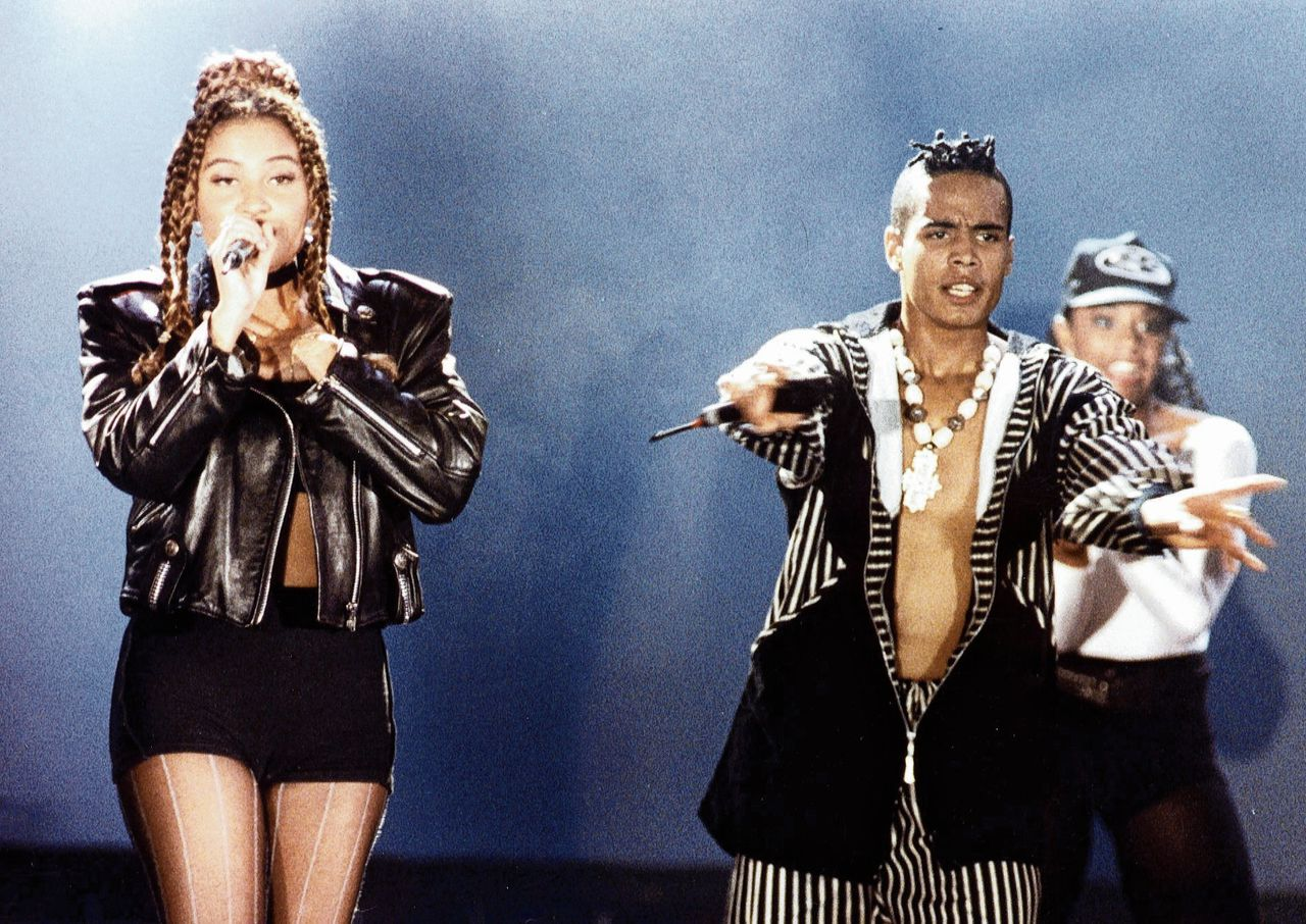 Anita Doth en Ray Slijngaard van 2 Unlimited.